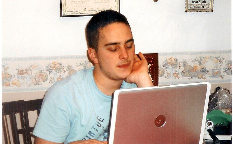 Connor Menneto age 17 (CRPS) 2009