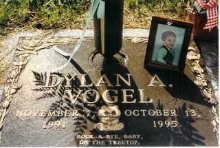Dylan- November 1, 1991- October 13, 1995