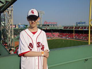 Jeffrey visits Red Sox @ Fenway July 28,2009