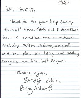 Aiden- Families Note of Thanks to ACCFCB