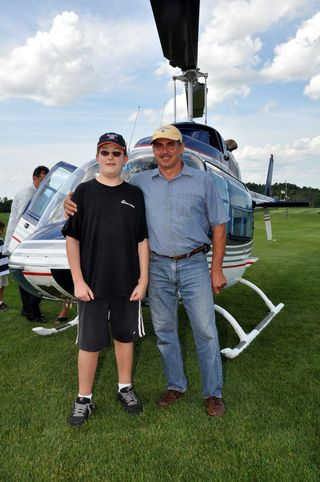 Helicopter owner & Buddy June 25, 2010