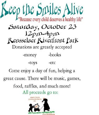 Keep Smiles Alive Fundraiser 10-23-10