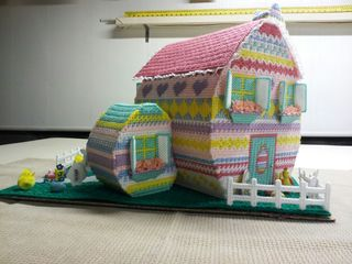 Easter House dobated by Debbie Tremblay for Madie Musto Family Back