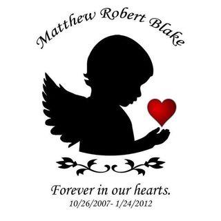 Memorial to Matthew Blake, 4 January 2012