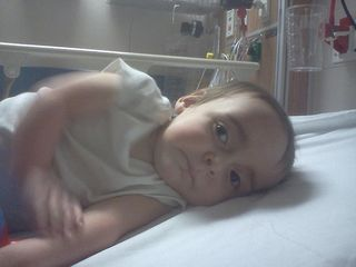 Logan at AMCH 03-07-12 Collapsed Lung
