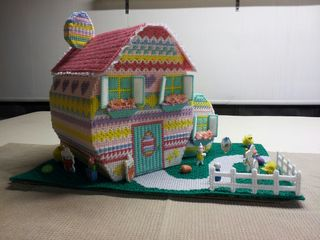 Easter House Donated by Debie Tremblay for Maddie Musto Family Front