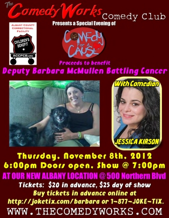 Comedy Works Flyer for Barb McMullen1