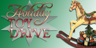 Holiday Toy Drive Logo 99.5 The River