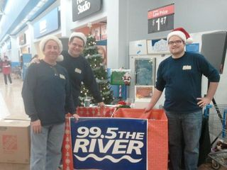 12-8-12 The River Crew Holiday Toy Drive Photo 5