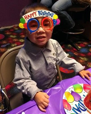 Aiden Torres Age 3 Happy Birthday