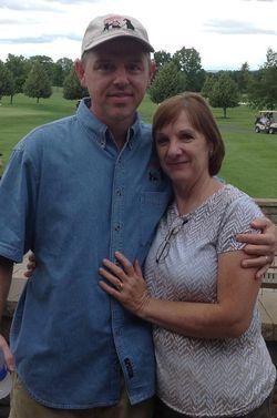 John & Donna Photo @ Golf event June 28, 2013