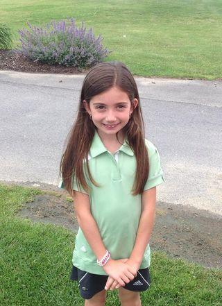 Photo Nicole Criscone at golf event June 28, 2013