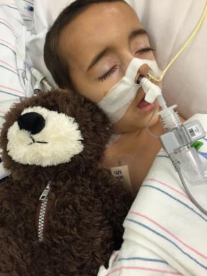 Logan Siciliano age 4 Dec 2015 Caringbridge Post Heart Surgery