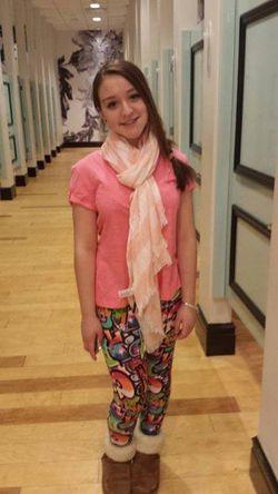 Reese Johnson Age 13 Photo 2 Ewing Sarcoma April 2014