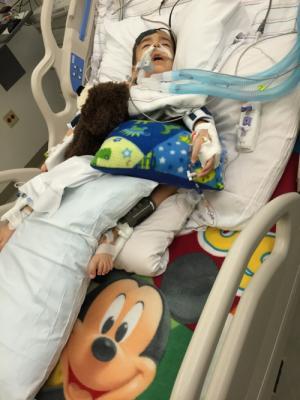 Logan Siciliano age 4 BCH Heart Surgery Dec 2015