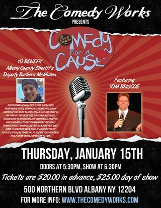 Flyer-Barb Comedy Works Fundraiser 2015