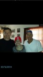 Reese Johnson Age 13 with John Smith and Tim O'Brien