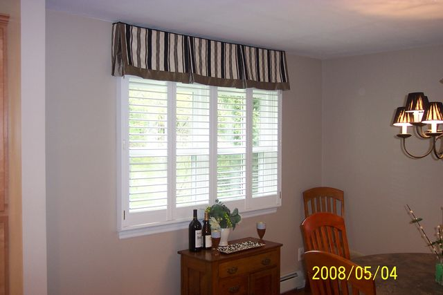 Window Treatment Photos Board Mounted Box Pleated Valance